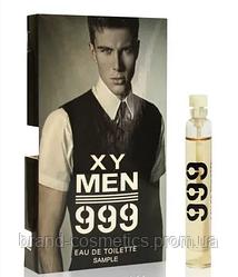 Масляный мини-парфюм с феромонами  Мужской мини парфюм XY Men 999 5 мл