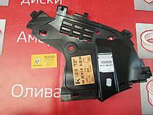 Защита бампера нижняя правая Renault Logan f2. (Original 6001549323)