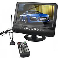 "Портативный телевизор 901 с Т2 USB SD 9,5"" + батарея"