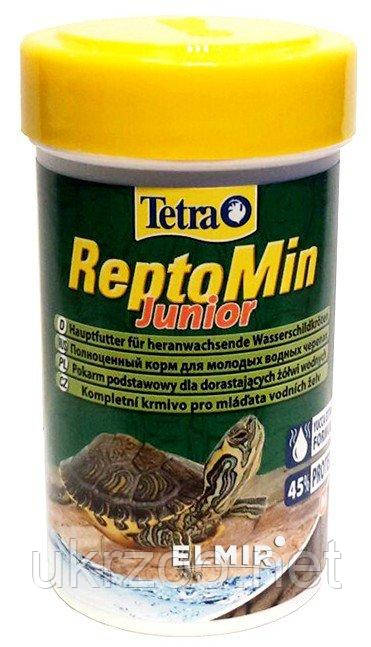 Tetra ReptoMin Junior 100ml  корм для мол. черепах
