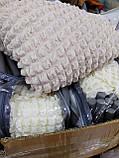 Чехол на угловой диван + кресло Кремовый, фото 3