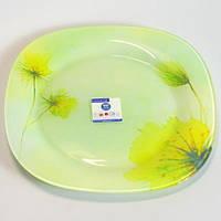 Обеденная квадратная тарелка 25см LUMINARC Sunlight