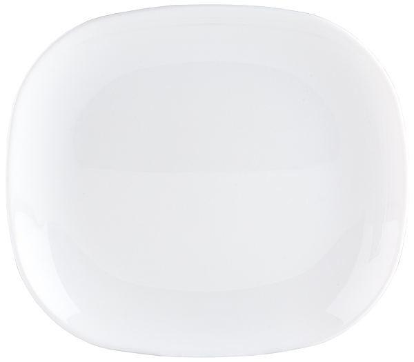 Тарелка десертная White 21.5x19см Luminarc SWEET LINE