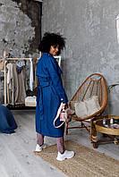 Тренч джинсовый голубого цвета Udler, фото 1