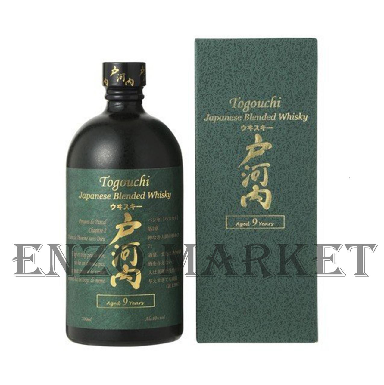 Виски Togouchi 9 y.o. (Тогучи 9 лет) 40%, 0,7 литра