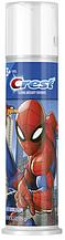 Дитяча зубна паста, Crest kid's Cavity Protection Spiderman, Blue Bubblegum, 119грам
