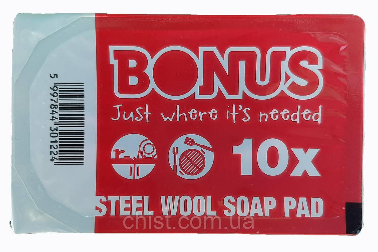 Bonus губки с пропиткой для посуды (10шт)