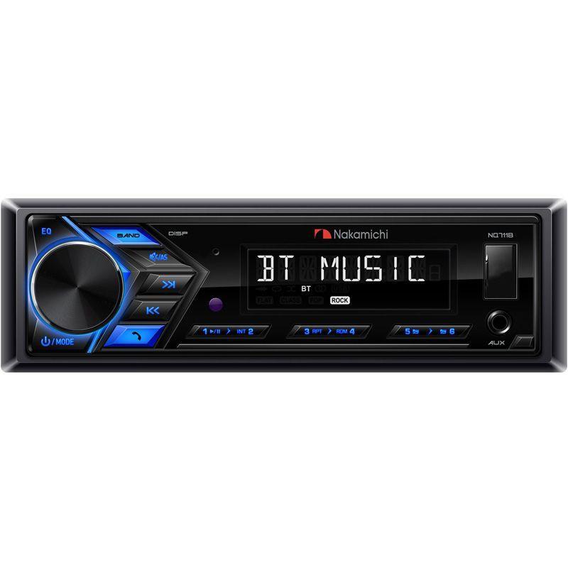 Автомагнитола 1DIN Nakamichi NQ711B с Bluetooth