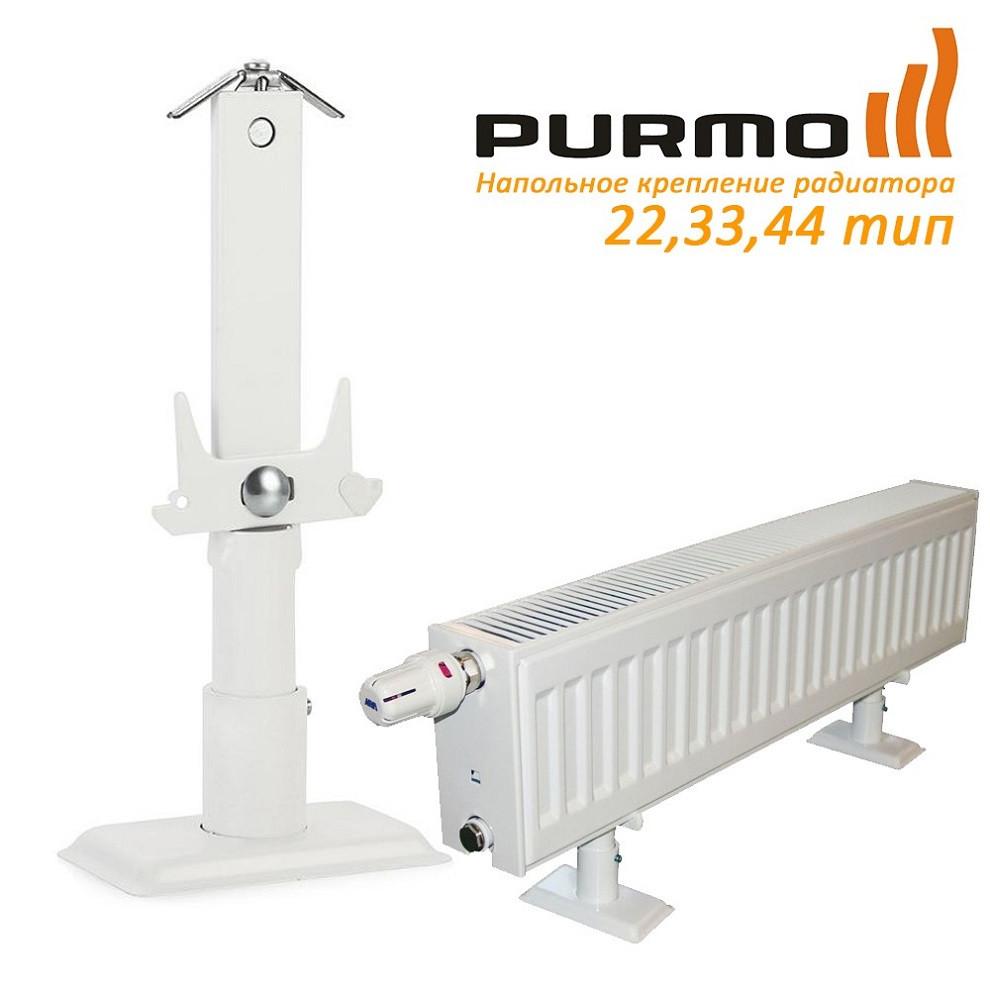 Cтойка для панельных радиаторов  высотой 200 мм  AZ02BS1200224401