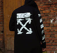 Мантия мужская Off-White x black  ТОП качества