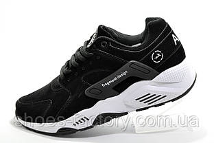 Кроссовки мужские в стиле Nike Air Huarache, Black\White