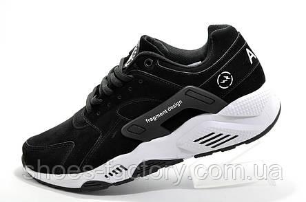 Кроссовки мужские в стиле Nike Air Huarache, Black\White, фото 2