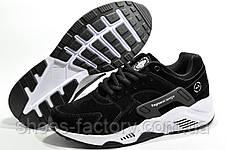 Кроссовки мужские в стиле Nike Air Huarache, Black\White, фото 3