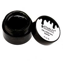 Гель-краска для дизайна Starlet чёрная