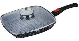 Сковороды | Сковорода-гриль с гранитным покрытием Benson BN-310 28 см
