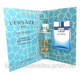Масляный мини-парфюм с феромонами  Versace Man Eau Fraiche,  5 мл