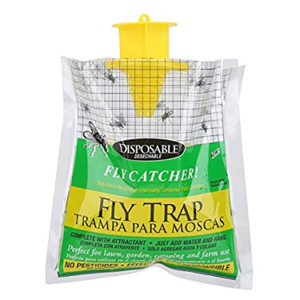 Пастка для мух і ґедзів FlyTrap (з приманкою в комплекті)