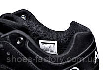 Подростковые кроссовки на мальчика в стиле Nike Air Huarache, Black\Orange, фото 2