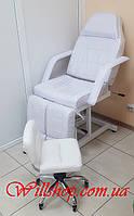 Косметологическая кушетка 246 Т+стул педикюрный 868