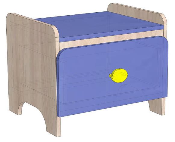 Прикроватная тумбочка в детскую Немо, фото 2