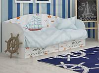Детская кровать с двумя ящиками Малятко
