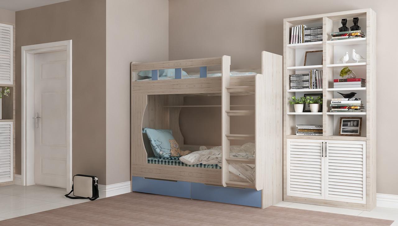 Двухъярусная детская кровать Марли 1,9х0,8