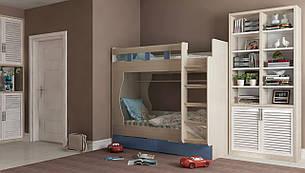 Двухъярусная детская кровать Марли 1,9х0,8, фото 2