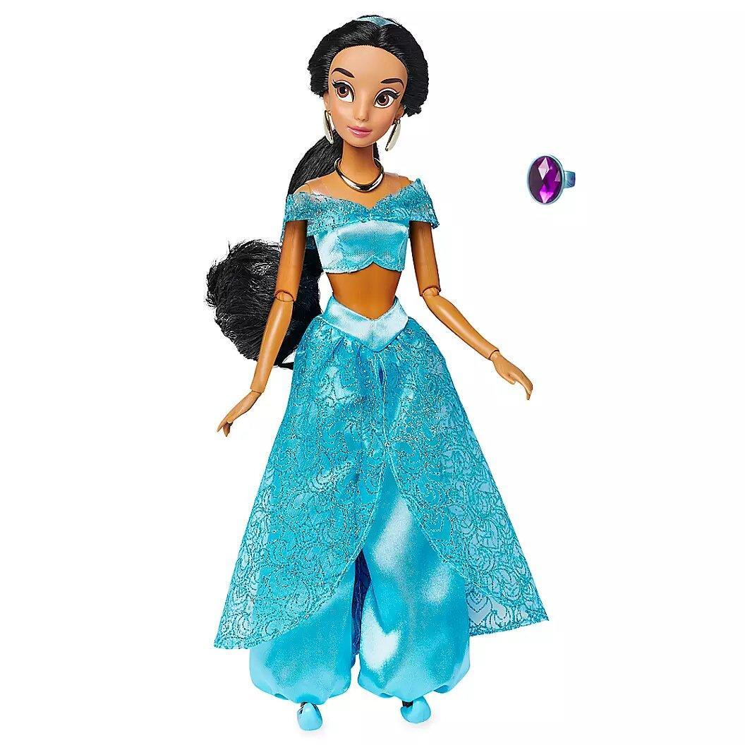 Кукла Disney Жасмин Jasmine Classic Doll with Ring