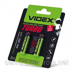 Videx Батарейка щелочная LR03/AAA Turbo