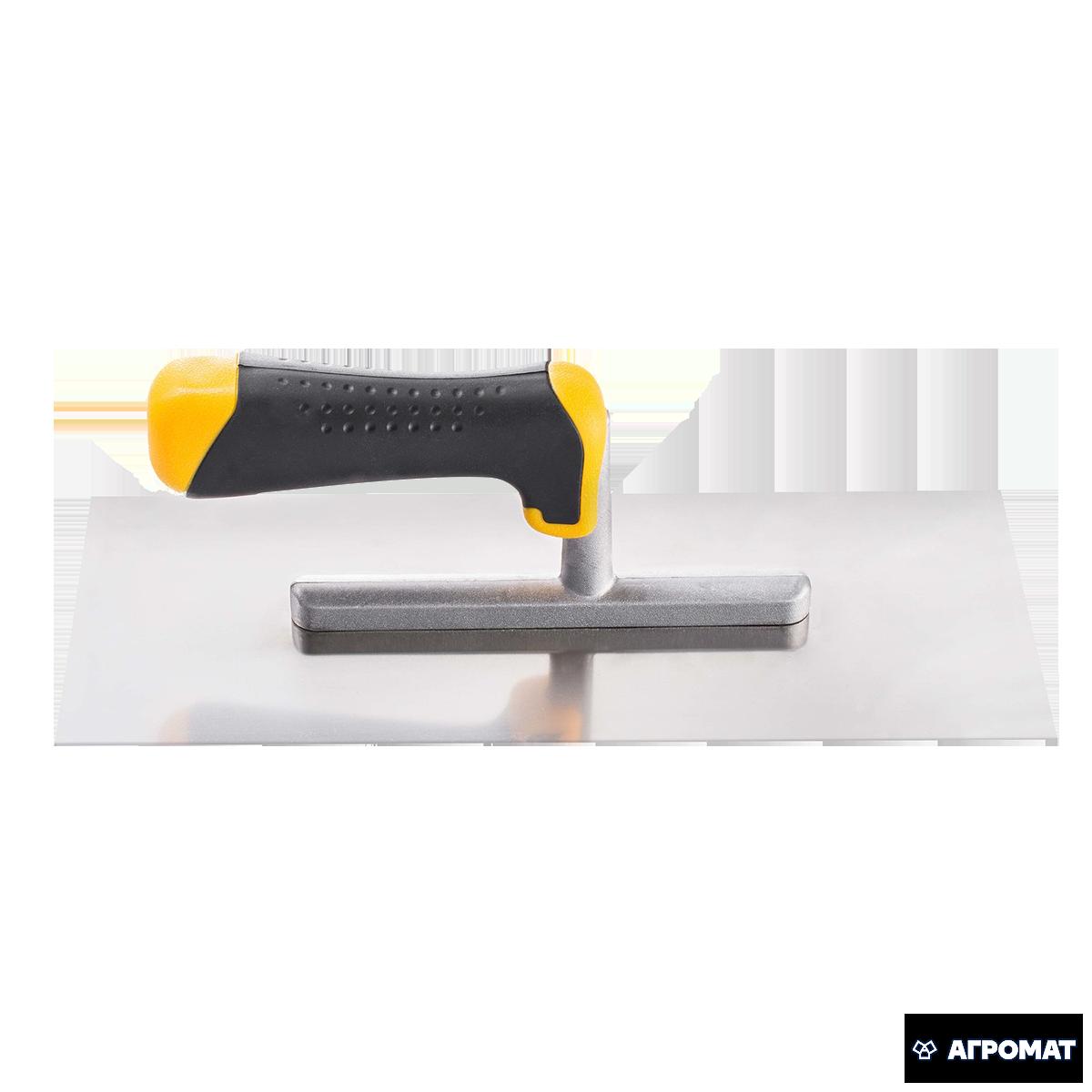 Гладилка HARDEX * 28 * 28х12 см нержавеющая сталь ручка 2К