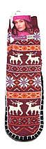Носки - тапочки с нескользящей подошвой женские размер 35-38, фото 3