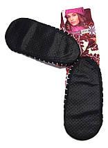 Носки - тапочки с нескользящей подошвой женские размер 35-38, фото 2