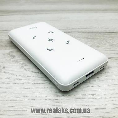 Powerbank HOCO J50 з безпровідною зарядкою (білий), фото 3