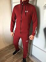 Спортивный костюм Under Armour X-red мужской трикотажный весенний осенний ЛЮКС