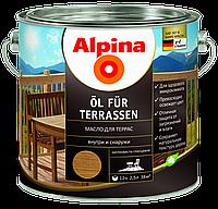 Масло для деревянных террас Alpina