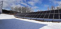 Система креплений солнечных батарей для наземного размещения 90 шт (30 кВт), фото 1
