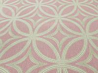 Тефлоновая ткань ДУК принт АБСТРАКЦИЯ розовая
