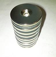 Диск 40х4,5 мм, отверстие 6,7 мм Сцепление ≈ 9 кг 2 шт.