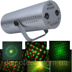 Лазер твинклинг G-50mW, R-100mW BIGlights BE019