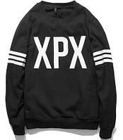 """Свитшот мужской черный с принтом """"XPX"""""""