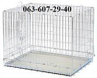 Клетка вольер 93х62х72 см для котов и собак Волк-1