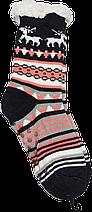 Шерстяные женские носки с отворотом размер 36-38, фото 3