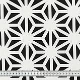 Шторы в Детскую комнату MacroHorizon Геометрия Черный (MG-DET-160964), 270*145 см, фото 3