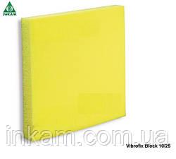 Віброізолятори Vibrofix Block 10/25 (50х50х25мм)