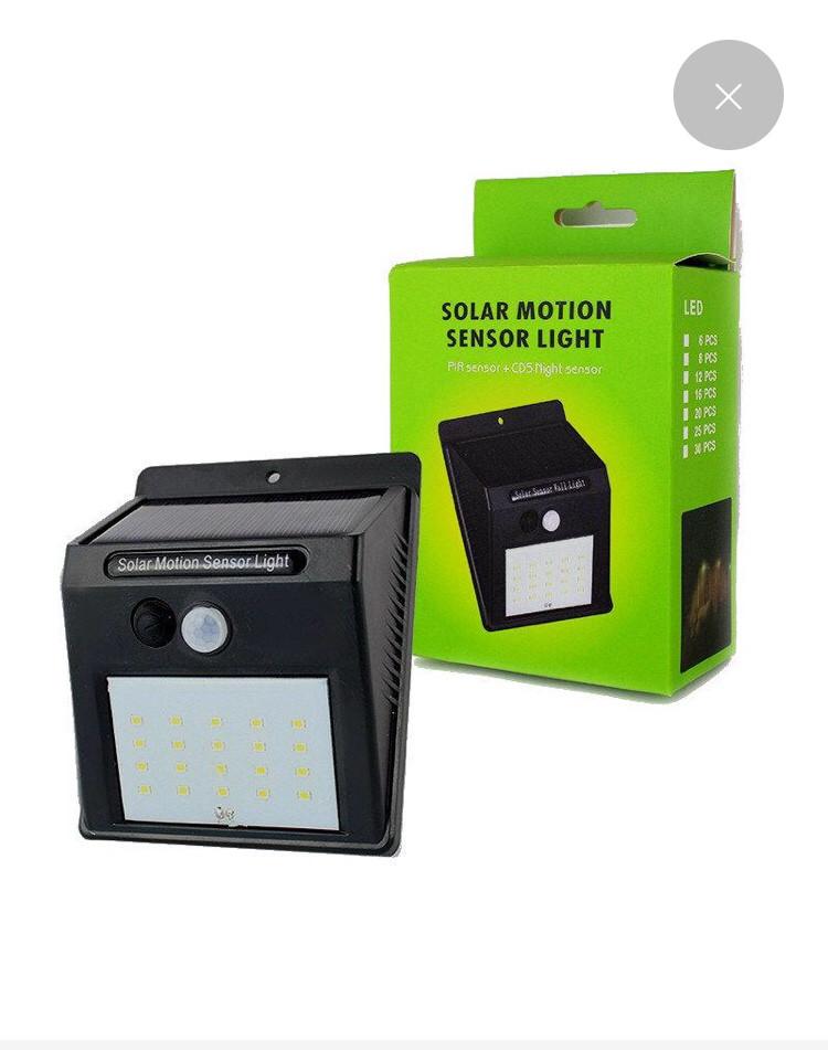 Автономный уличный светодиодный светильник Solar Motion XF 6009 LED с датчиком движения (20 лапм) оптом