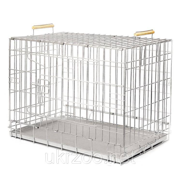 Клетка для собак Волк вольер 75х54x48 см