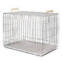 Клетка вольер 75x48x54 см для котов и собак Волк