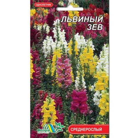 Львиный зев смесь, цветы однолетние, семена 0.1 г