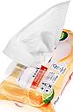 Вологі серветки чистячі  DENKMIT Orange & Bergamotte 50 шт, фото 3