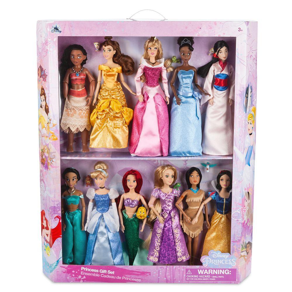 Подарочный набор 11 кукол Принцессы ДИСНЕЙ  / DISNEY оригинал